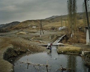 There is very tense situation with safe drinking water in Batken region of Kyrgyzstan, due to the numerous dams, rivers dry up and people forced to either fight for every drop of water.