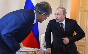 atambaev and putin for in the focus of three superpowers from kommersant1