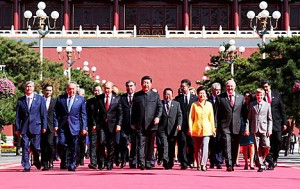 china and ca leaders