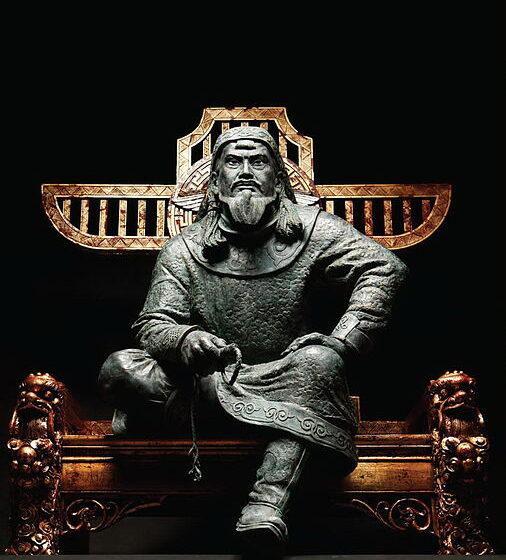 Чингисхан. Автор: Иван Коржев. CC-A-SA 3.0