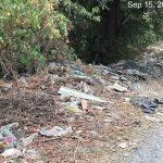 мусор около поля Алатау ИЯФ 1