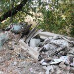 мусор около поля Алатау ИЯФ 4